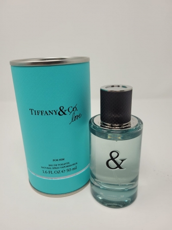 Tiffany Tiffany & Love For Him 50 ml Eau de Toilette Spray EdT B-Ware